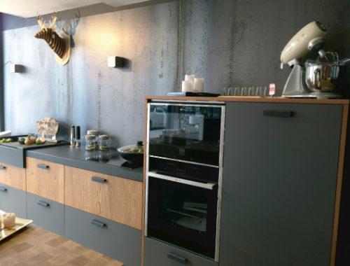 Réalisation Bulles Cuisines Lyon (69) Cuisine rustique moderne