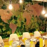 Réalisation Bulles Cuisines : Cuisine et salle à manger, design épuré et contemporain.